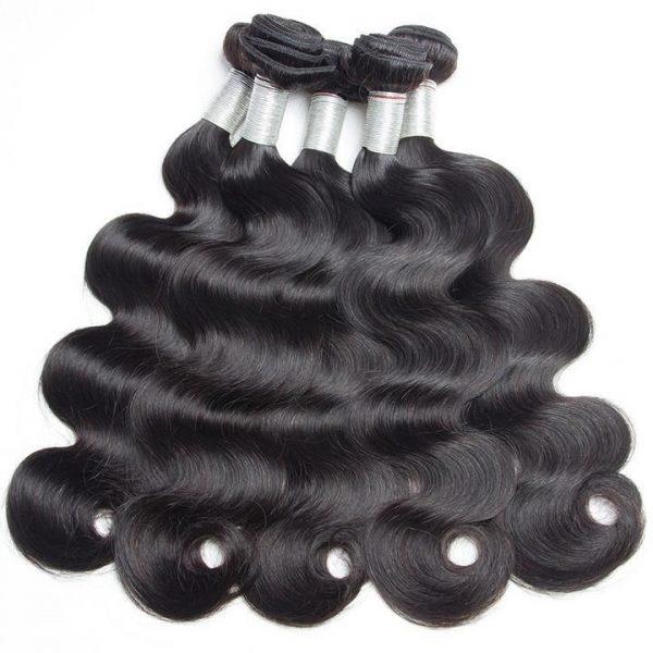Brazilian hair bundles body wave textures