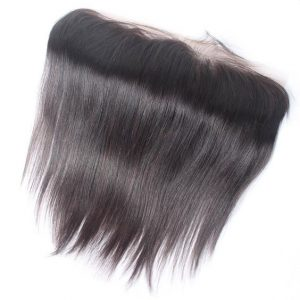 Brazilian human hair lace frontal straight