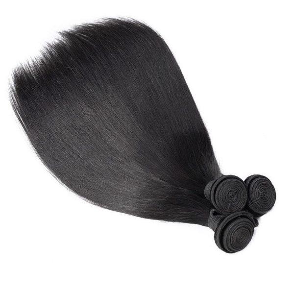 Brazilian hair bundles straight textures
