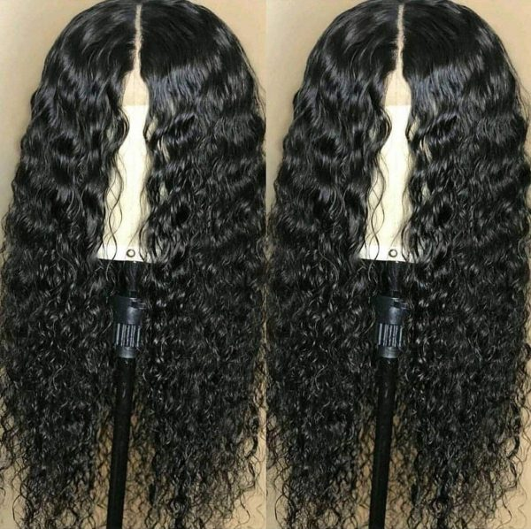 Sistershairstyle Virgin Human Hair Pre Plucked Full Lace Wigs and Lace Front Wigs (SHS0106)