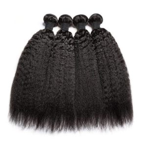 Brazilian hair bundles kinky straight textures