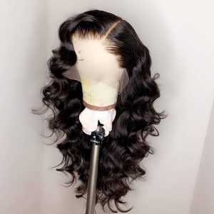 Sistershairstyle 13x6 Curly Virgin Human Hair Wigs Pre Plucked Natural Hairline With Baby Hair(SHS0184)